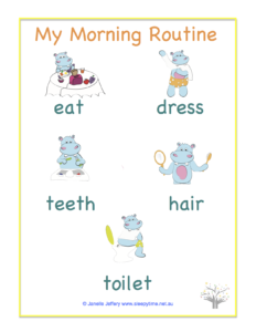 MyMorningRoutineChart